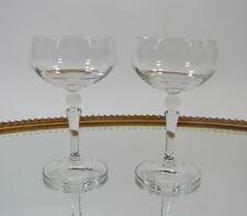 Nachtmann 2 Weingläser Südweinglas mit Kugel Kristallglas