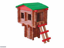 Roy Toy: Traditional Log Tree House Building Set, item #97008