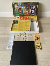 The Simpsons Clue Board Game - 2002 Edition by Parker Brothers - 100% Complete