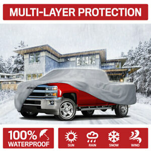 Motor Trend Multi-layer Waterproof Pickup Truck Cover fits Chevrolet Silverado