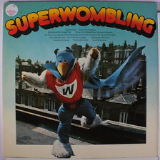 WOMBLES: Super Wombling LP (UK, EMI Library tag on cover, gatefold cover v. sl