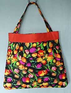 HANDMADE REVERSIBLE BAG in 100% Cotton Canvas