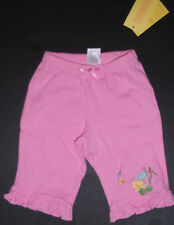 Nwt Gymboree Tiny Pond 0-3 Months Pink Embroidered Lily Pad Pants