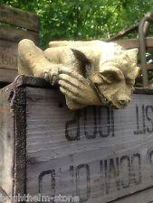 Gárgola Estante Colgante Goblin Gremlin Frostproof piedra de hogar o jardín Ornamento