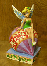 "Jim Shore Disney 4027923 TINKER BELL ""HAVING A BALL"" From Retail Store CHRISTMAS"