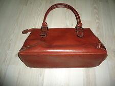 Grand sac fourre tout brun – nombreuses poches –