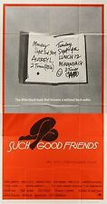SUCH GOOD FRIENDS 1971 Dyan Cannon, James Coco SAUL BASS US 3-SHEET POSTER