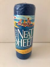 """New The NEAT SHEET 57"""" X 77"""" ground cover for beach parks picnics camping Sealed"""