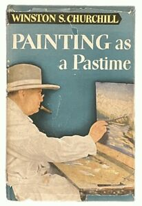 Winston Churchill: Painting as a Pastime FIRST AMERICAN EDITION 1950