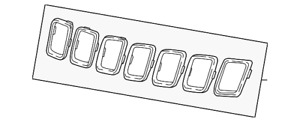 2018 Jeep Compass OEM Chrome Grille Bezels Trim Rings You Pick which ones $25 ea
