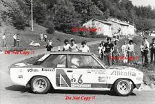 Walter Rohrl ALITALIA FIAT 131 Abarth Rally San Remo 1979 fotografia 1