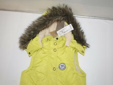 TOM TAILOR Weste Padded Vest with Teddy 35210110071 (Limettengrün 3485) .NEU (S)