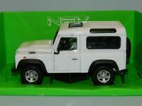 Land Rover, Defender, - White, 1/24, scale, Welly, Model Car, New and Sealed