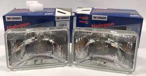 NOS WAGNER H4651 Rectangular Halogen Head Lamp Headlight High Beam 12 Volt