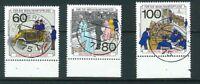 BRD Mi.-Nr. 1474-1476 zentrisch gestempelt Vollstempel - Karlsruhe + Gummierung