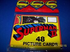 1980 TOPPS SUPERMAN 2 TRADING CARD SET OF 48 (UNOPENED)