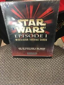 Star Wars Episode 1 Widevision Premium Trading Cards Box Set Topps  Sealed New