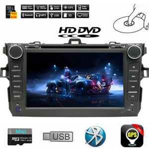 Android 9.1 GPS Navigation Car DVD Player Radio For Toyota COROLLA 2009-2010 CAM