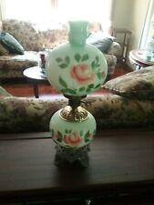Vintage hand painted lamp