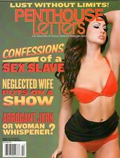 PENTHOUSE LETTERS CONFESSIONS OF A SEX SLAVE  FEBRUARY 2015 WITH DVD