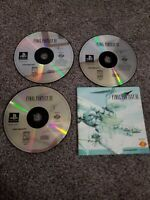 Final Fantasy VII 7 Sony PlayStation 1 PS1 with Manual. Tested & Clean!