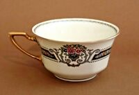 Vintage Rosenthal Ivory Bavaria Orelay Flat Floral and Fruit Coffee / Tea Cup