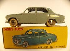 Dinky Toys F n° 24B Peugeot 403 en boite