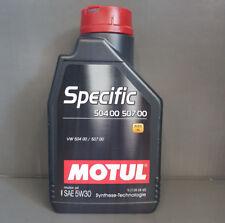 MOTUL ESPECÍFICO 504 00 507 00 5w30 motoröl1 litro para y euro-5-motoren VW Audi