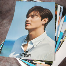 K-STAR LEE MIN HO 12 CUT Posters Collection Bromide (12PCS) + Photo Sticker