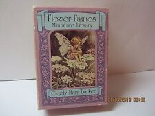 Vintage Flower Fairies Miniature Library By Cicely Mary Barker-Illustrated-Poems
