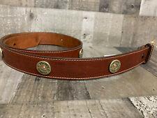 Size 44 Shot Gun 12 Gauge Mens Genuine Leather Belt 3D Belt Western Cowboy #0153