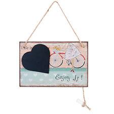 Clayre Eef Kreidetafel Tafel Herz Kreide kleine Notiztafel Wandbehang Bild
