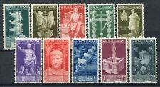 Kingdom of Italy 1937 Augustus P.O complete set MNH ** Saxon s89