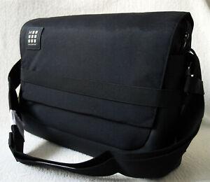 """Moleskine ID Messenger Work Tablet Laptop Bag up to 15"""" Black 39x28x13cm Large"""