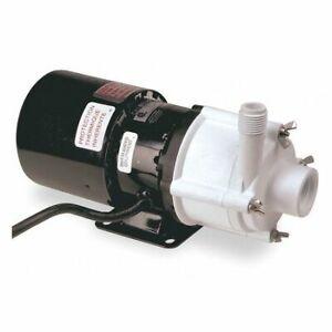 """Little Giant 3-Md-Sc 1/12 Hp Polypropylene Magnetic Drive Pump, 115V, 3/4"""" Fpt"""