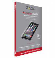 Zagg iPhone 8 7 PLUS 6S/6 PLUS Tempered Glass InvisibleShield Screen Proetector