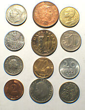 12 Differrent World Coins Lot of (12)
