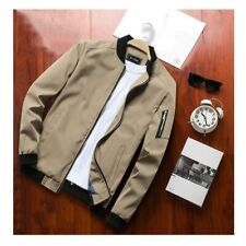 Mens Jackets Spring Autumn Casual Coats Bomber Jacket Slim Fashion Male Outwear