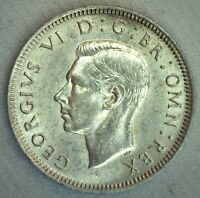 1941 BU Great Britain Silver Shilling Coin Uncirculated UK Silver Coin