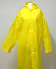 Damen Herren Regenmantel Hochwertig Regenjacke Transparent  Kapuze  Regenschutz