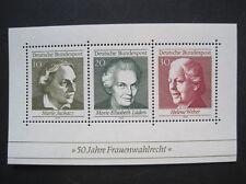 Bund MiNr. 596-598 Block 5 postfrisch**  (BU 596-98)