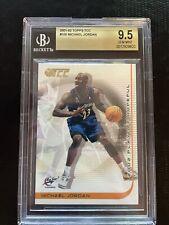 2001-02 Topps TCC #100 Michael Jordan Washington Wizards HOF BGS 9.5 GEM MINT