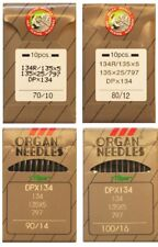 Organ Industrial Sewing Machine Needles 134R 135X5 DPX5 Pack of 10