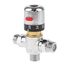 Robinet de douche thermostatique à vanne mélangeuse à 3 voies en laiton