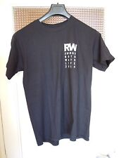 RARE / T- SHIRT : ROBBIE WILLIAMS / TAILLE SIZE M - 100 % COTTON QUALITY QUALITE