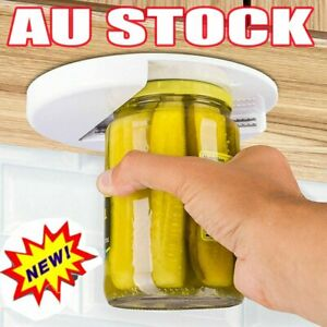 Arthritis Glass Jar Opener for Under the Kitchen Cabinet Counter LBZ Remover Aid