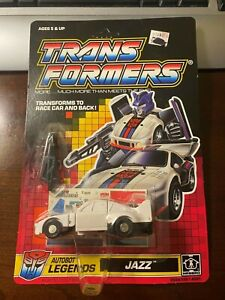1989 Transformer G1 Legends Jazz MOSC and unpunched