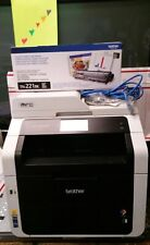 Brother MFC-9340CDW All-In-One Printer Networkable Wireless New Toner Ex.Black!