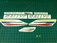 PEUGEOT 306 Rallye GTI Decalcomanie Adesivi Grafici di Sostituzione Restauro Argento