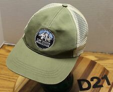 SAW TOOTH ROADHOUSE HOOD RIVER OREGON HAT GRAY & BEIGE SNAPBACK VGC D21